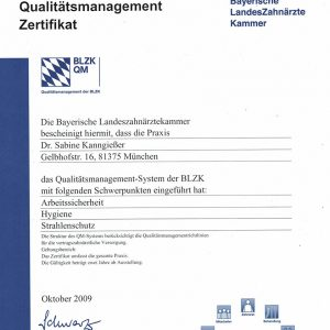 Certificate quality management